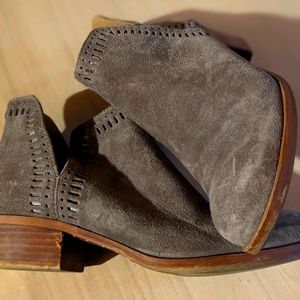 Shade tan lucky brand ankle boots